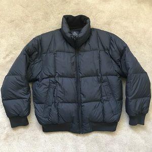 Nautica Jacket Size Small VTG Puffy Bubble Rare